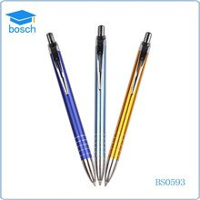 2015 New Style metal pen clips Metal Gift Ball Pen with Logo (BS0593)