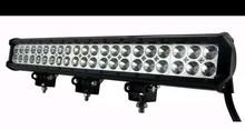 Hot sale offroad working led light bar IP67 126W led outdoor light barr
