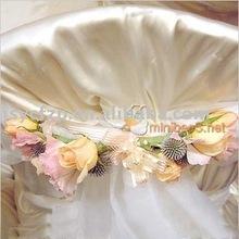 organza fabric sash