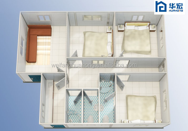 Eps sandwich panel prefabricated homes view prefabricated - Sandwich panel homes ...