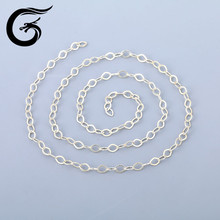 925 sterling silver findings italy silver jewelry chain necklace
