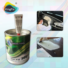 two component european cream hardener poly putty