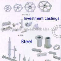 Steel investment casting
