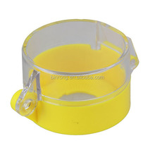 22mm Yellow Emergency Push Button Switch Dustproof Safeguard Shell Cover