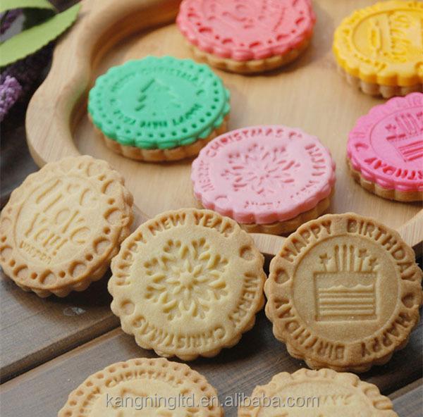 Tampon en caoutchouc personnalis qualit alimentaire timbre oem odm outils de biscuits id de - Tampon cuisine personnalise ...