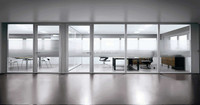 The mobile clear glass partition wall double glass single glass demountable glassoffice partition wall