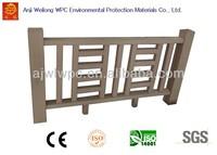 WL-HR-1 Good quality wood plastic composite wpc outdoor hand rails