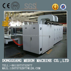 FYQ1370*2200 carton printing machine with slotter and die cutter machine automatic die cutting machine