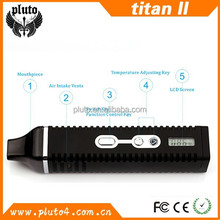 Hot sell portable vaporizer smoking device titan-2 vaporizer, Hebe vapor ,authentic titan 2 with CE Rohs FCC approved