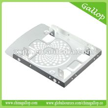 "Aluminum 2.5"" HDD/SSD bracket with fan design"