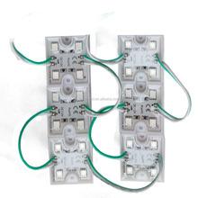 20pcs/string 36*36*5mm 0.96W square 4 led module green