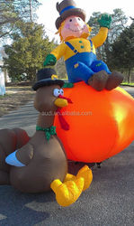 giant festival product Thanksgiving inflatable decoration/ Inflatable Turkey