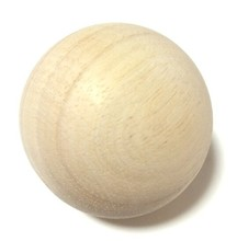 Dia 2 inch Wood Craft DIY Unfinished wood round balls for Paint, stain, or decorate