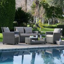 2015 New design luxury used deep seating rattan image of sofa set