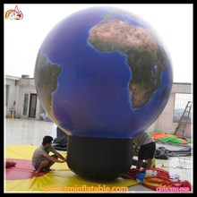 2015 latest style inflatable product earth balloons / playground balloon