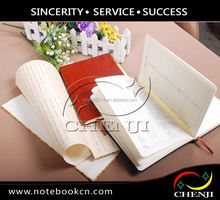 pvc notebook 2015 office diary,leather cover notebook