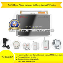 China Factory ! Wolf guard IP Camera wireless GSM alarm with simple installation