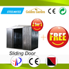 sturdy construction sliding door modular homes for tools storage