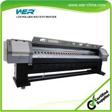 3.2m billboard printing machine spectra polaris 512-35pl head with 1 year warranty free rip software, billboard printer