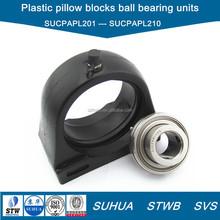 SUCPAPL200 series thermoplastic pillow blocks ball bearing units