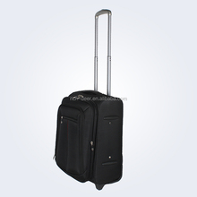 travel trolley luggage bag with full lining 2 front large pockets