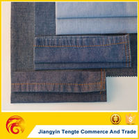 cotton polyester jeans fabric in high quality