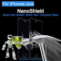 High quality self repair screen protector for iphone6 nano shield touch screen nano film