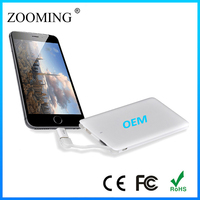 Hot promotion 4000mAh smart mobile power bank manual, manual for power bank battery charger