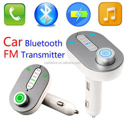 The Newest Bluetooth Car Kit MP3 Player Wireless FM Transmitter, Bluetooth Hands-free Car Kit, Green Light