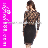 Sexy long sleeve lace dress latest dresses party dress wholesale and retail