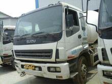 Second hand cement mixer truck for sale / good price cement mixer truck