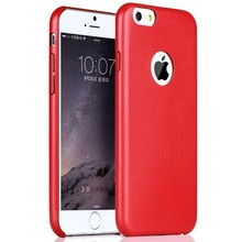 Factory price!leather back cover for iphone 6,for iphone 6 leather cover case