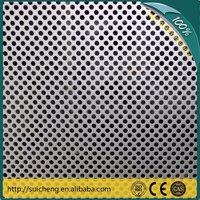 Guangzhou factory 304 stainless steel perforated metal deck/perforated sheet
