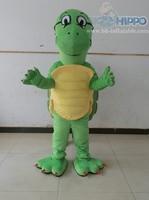 green sea turtle mascot costume cartoon adult suits
