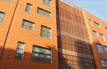 Terracotta Sunscreen Louver , 8mm Thickness with 1,500 Maximum Length