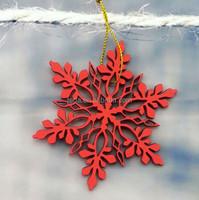 Free Shipment 2016Teda Painted hanging snowflake decorations