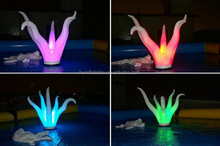 Ocean theme inflatable led plant inflatable lighting aquatic for event or party decoration