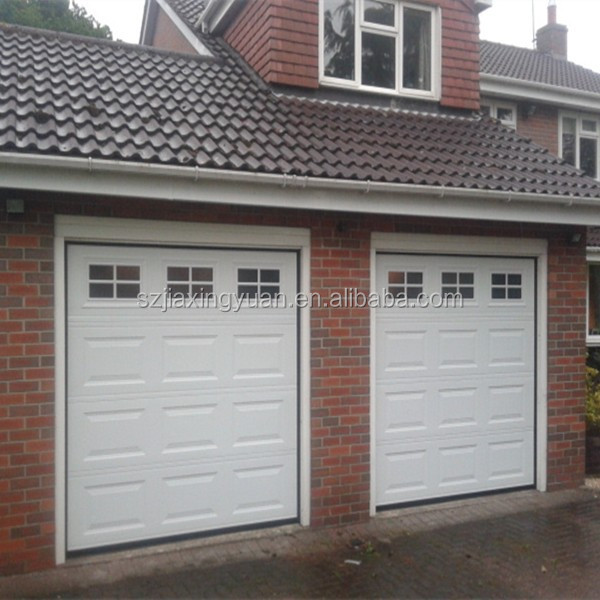 Residential overhead steel garage door window kit buy for Residential garage kits
