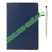 Wholesale Litchi Texture flip leather case for asus memo pad fhd 10 me302c with Holder