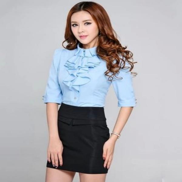 Venta de blusas de mujer, veriedad de colores y tipos - Wa2