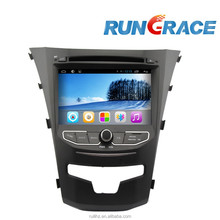 ssangyong korando android 4.2.2 car dvd player with wifi navigation