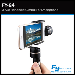 feiyutech 3 axis FY-G4 smart phone gimbal , 5c/5s/iphone 6 and similar size mobile phone