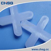 transparent white color plastic tiles trims and spacers 5mm(CHSG)