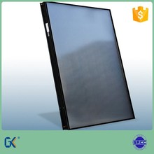 Aluminum full plate 80mm thick black selective coating laser welding 5 years guarantee flat plate solar collector prices