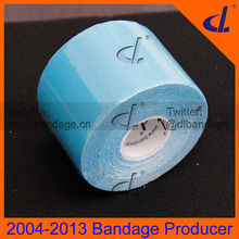 3.8cm x 5m soft light blue Kintape Roll DL0302 hypoallergenic
