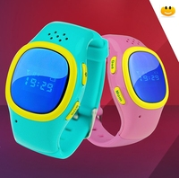 China top ten selling products wrist watch Small gps tracking device for kids children