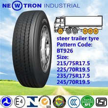 YOTO BT926 2015 china new cheap price mud ice snow road tractor trailer tire 245/70R19.5