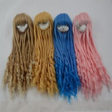 2014 new arrival professional high quality synthetic hair pink color baby hair