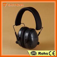 Eastnova EM017 electric ear muff,electronic ear defenders,electronic ear muffler in ear