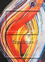 Latest Decorative Canvas Abstract Oil Painting